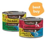 BUY 3 FREE 1: Firstmate Grain Free Canned Cat Food, 156g