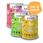 BUY 3 FREE 1: Kasiks Grain-Free Canned Dog Food, 345g
