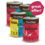 BUY-3-FREE-1: Firstmate Grain Free Canned Dog Food, 345g