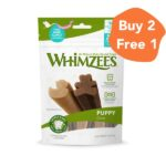 Whimzees Duck & Bear Shaped Natural Puppy Chews
