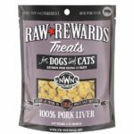 Northwest Naturals Raw Rewards Pork Liver Dog & Cat Treats, 3oz