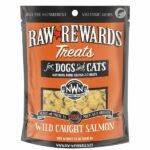 Northwest Naturals Raw Rewards Wild Caught Salmon Dog & Cat Treats, 2.5oz