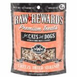 Northwest Naturals Raw Rewards Shrimp Freeze-Dried Dog & Cat Treats, 1oz