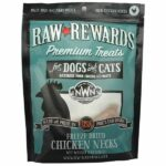 Northwest Naturals Raw Rewards Chicken Neck Freeze-Dried Dog & Cat Treats, 4oz