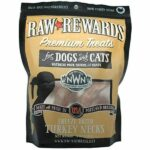 Northwest Naturals Raw Rewards Turkey Neck Freeze-Dried Dog & Cat Treats, 4oz