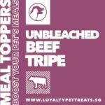 Loyalty Pet Treats Beef Tripe Powder Meal Topper, 15g