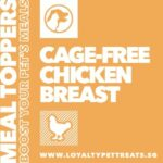 Loyalty Pet Treats Chicken Breast Powder Meal Topper, 15g