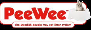 peewee cat litter logo
