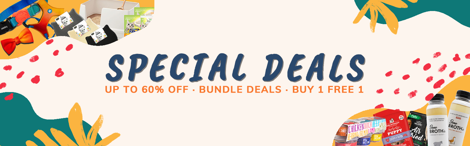 special deals homepage banner