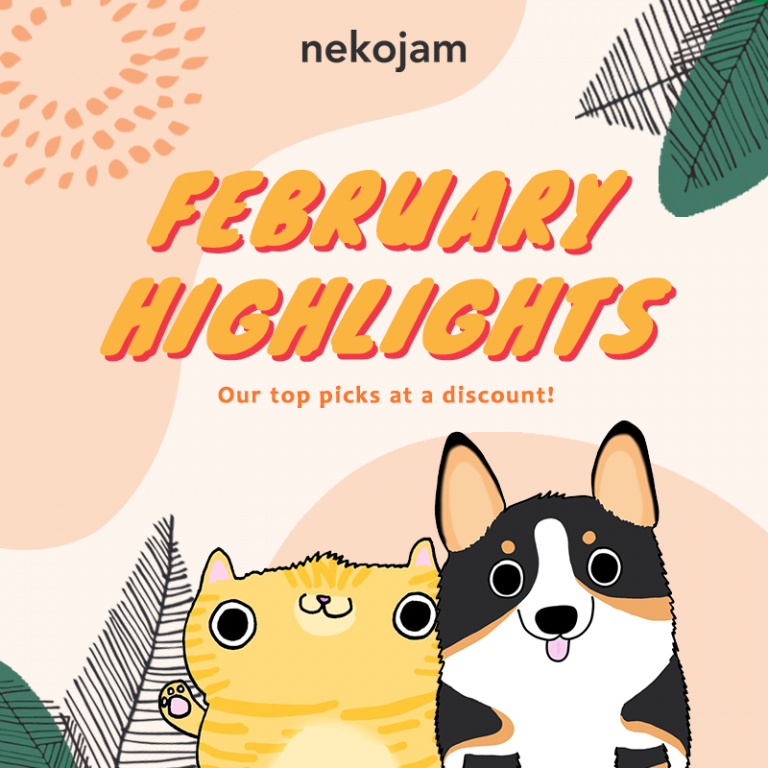 nekojam february highlights
