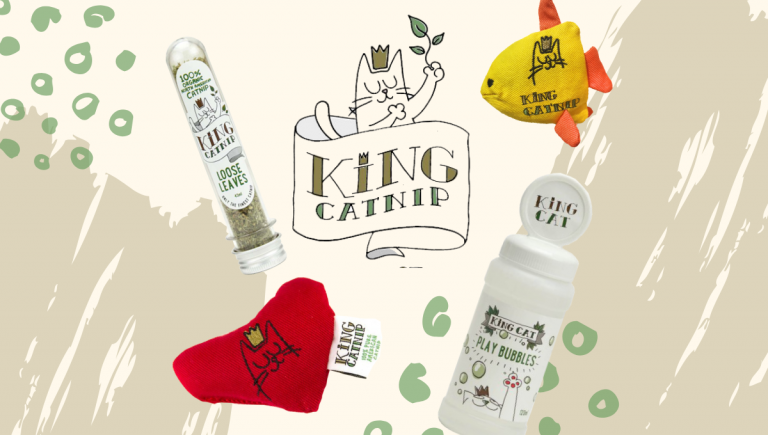 king catnip free gift promotion banner