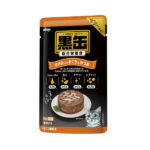 Aixia Kuro-can Tuna & Skipjack w/Chicken Fillet Cat Food Pouches 70g, Case of 12