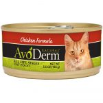 Avoderm Chicken Canned Cat Food, 156g - Case of 24