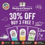 stella & chewy's raw coated cat kibble buy 3 free 1