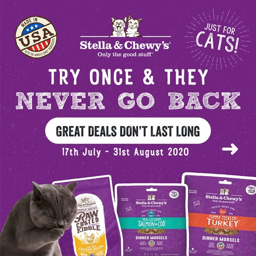 stella & chewy's cat food promotion