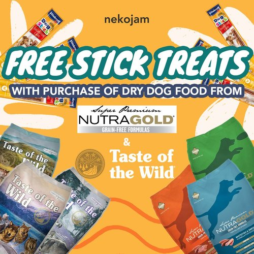 taste of the wild & nutragold free treats