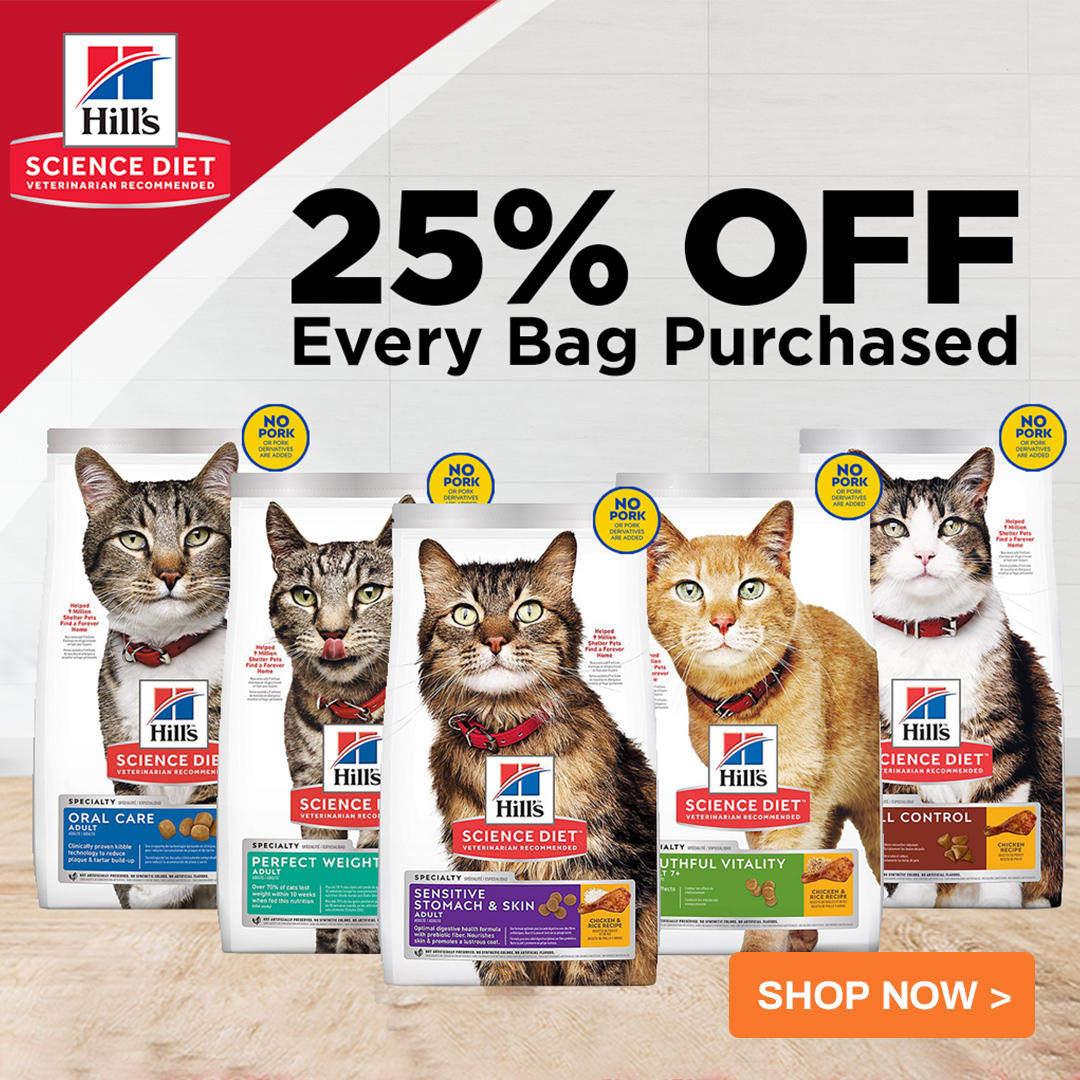 nekojam science diet 25% off
