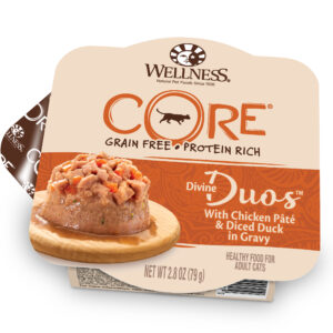 Wellness Divine Duos Wet Cat Food Chicken Duck