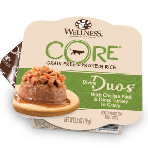 Wellness Divine Duos Wet Cat Food Chicken Turkey