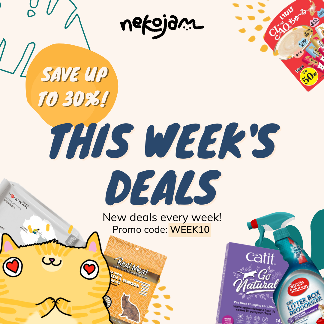 nekojam weekly deals banner (26 oct)